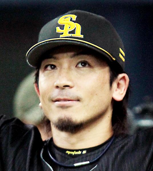 ソフトバンク残留を決めた松田宣浩(C)日刊ゲンダイ