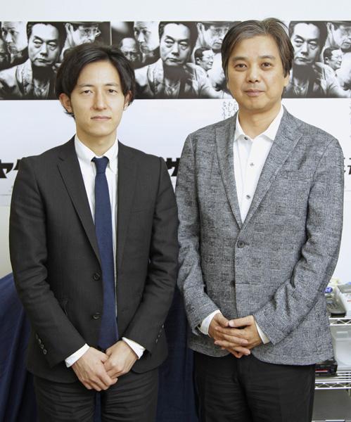 土方宏史監督(左)と阿武野勝彦プロデューサー(C)日刊ゲンダイ
