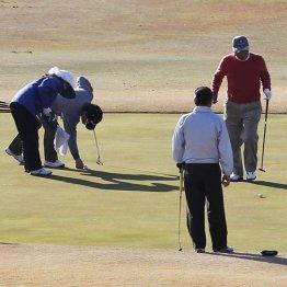 忘年ゴルフの想い出