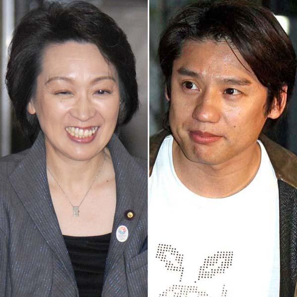 橋本聖子(左)は政治家、池谷幸雄はタレント(C)日刊ゲンダイ