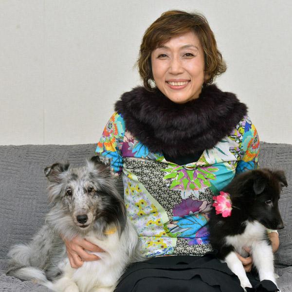 女優として活躍する山村美智さん(C)日刊ゲンダイ