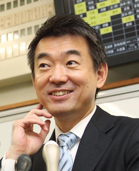 引く手あまたの橋下前大阪市長(C)日刊ゲンダイ