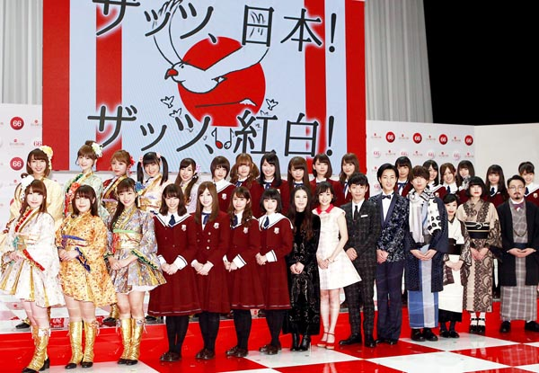 NHK紅白歌合戦の軍配はどちらに?(C)日刊ゲンダイ