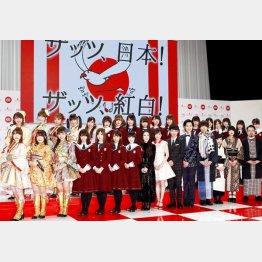 NHK紅白歌合戦の軍配はどちらに?