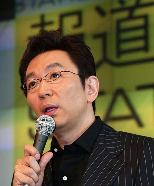 3月末で「報道ステーション」を降板する古舘伊知郎(C)日刊ゲンダイ