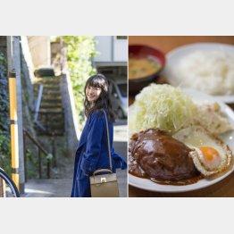 「キッチンたか」のハンバーグは絶品(C)日刊ゲンダイ