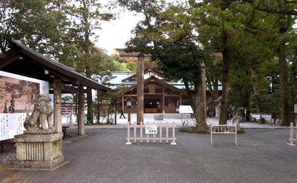 三重県伊勢市の「猿田彦神社」(C)日刊ゲンダイ