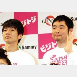 来年の大河「真田丸」にも出演する今野浩喜(右)