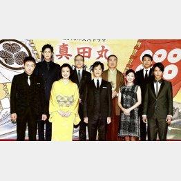 NHK大河ドラマ「真田丸」発表会見(C)日刊ゲンダイ