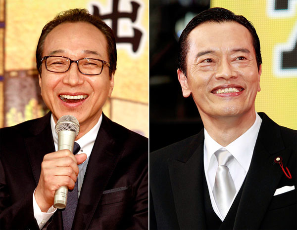 「ドラマが引き締まる」と評判の小日向文世(左)と遠藤憲一(C)日刊ゲンダイ