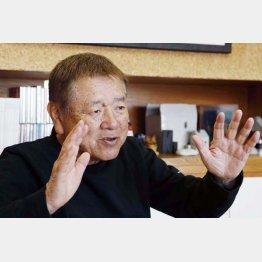 長友啓典さん(C)日刊ゲンダイ