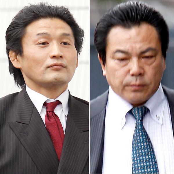 貴乃花理事(左)と九重親方(C)日刊ゲンダイ