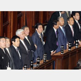通常国会は開会したが(C)日刊ゲンダイ