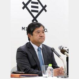 資源価格がカギ(安永社長)(C)日刊ゲンダイ