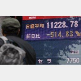 ジンクス通りなら1万1000円まで下がる(C)日刊ゲンダイ