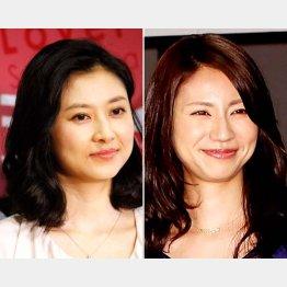 菊川怜(左)と松下奈緒
