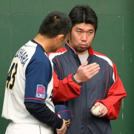 2008年にはオリックスで臨時コーチを(C)日刊ゲンダイ