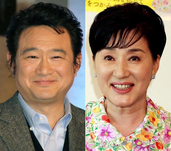 船越英一郎(左)と松居一代(C)日刊ゲンダイ