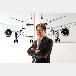 グループを率いる松本大CEO