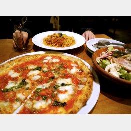 ピザやパスタは日本人も大好き(C)日刊ゲンダイ