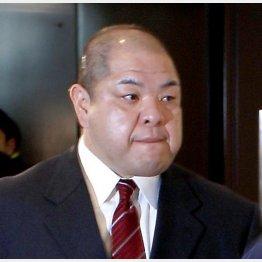 「財産を守る」と訓示した八角新理事長(C)日刊ゲンダイ
