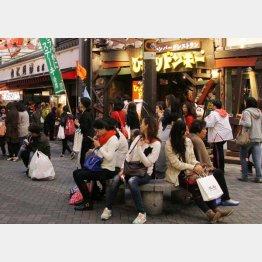 中国人の関心は「高品質」や「サービス」に移行中(C)日刊ゲンダイ