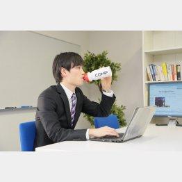 日本初の完全栄養飲料(提供写真)