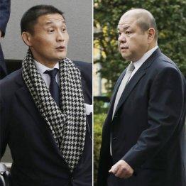 理事長選は貴乃花親方(左)と八角理事長の一騎打ちの様相(C)日刊ゲンダイ