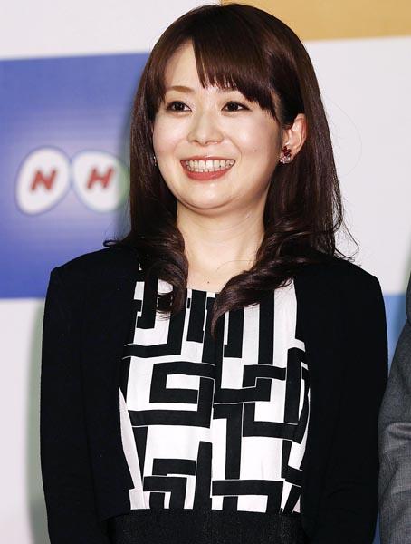 橋本奈穂子NHKアナウンサー(C)日刊ゲンダイ