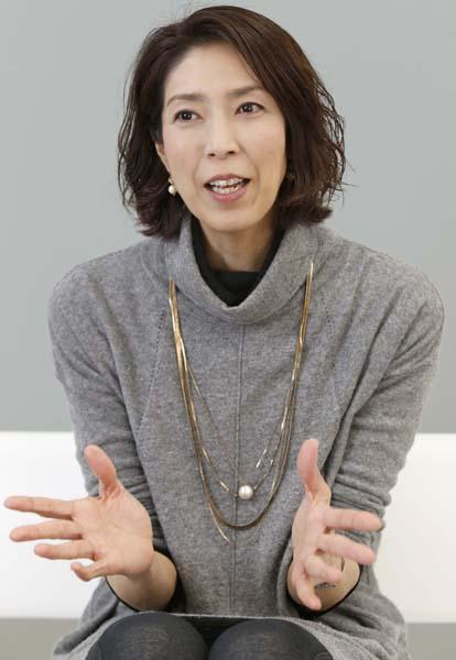 「本当はすごく強いのかも」と大林素子さん(C)日刊ゲンダイ