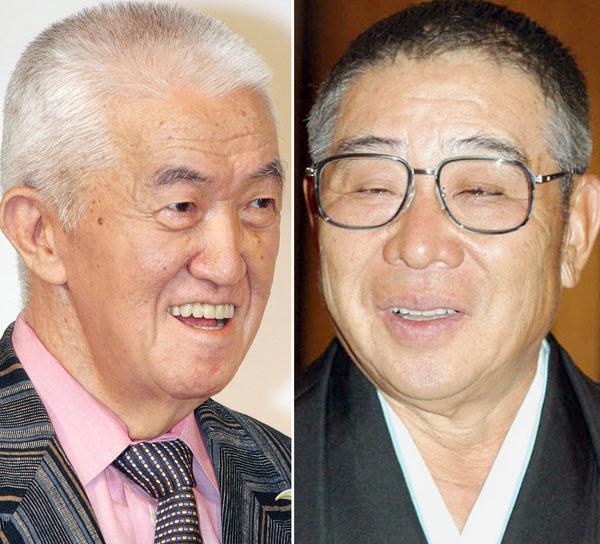 永六輔(左)と大橋巨泉、2人ともまだまだ現役/(C)日刊ゲンダイ