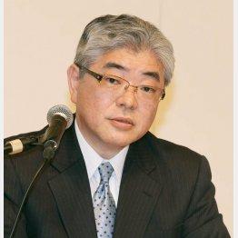 朝日の渡辺社長(C)日刊ゲンダイ