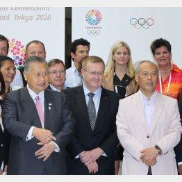 東京オリンピック2020ベニュー視察 で(C)日刊ゲンダイ