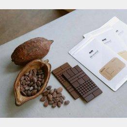 ミニマルのチョコレート(C)日刊ゲンダイ