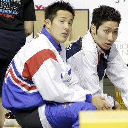 瀬戸(左)と萩野はメダルは堅いといわれるが…