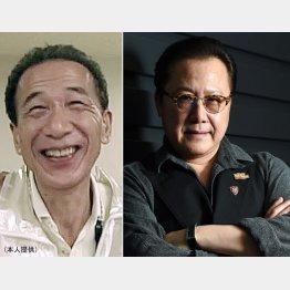 故・岸川均さん(左)石橋凌/(C)日刊ゲンダイ