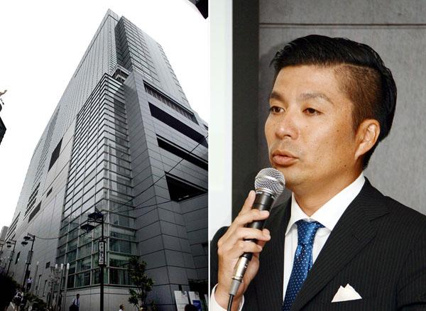サイバーエージェントの藤田晋社長(C)日刊ゲンダイ