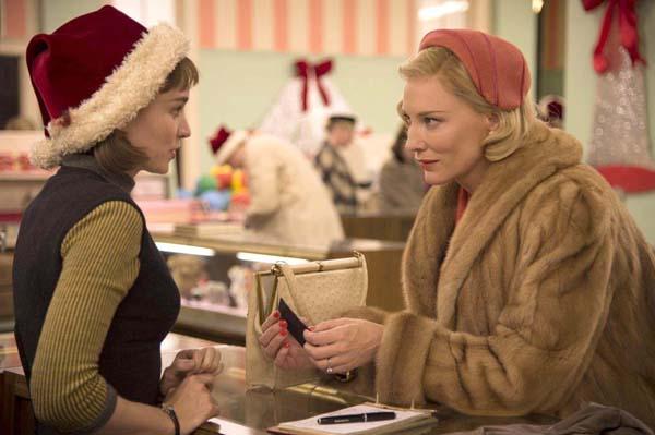 映画 「キャロル」(C)NUMBER 9 FILMS (CAROL) LIMITED / CHANNEL FOUR TELEVISION CORPORATION 2014 ALL RIGHTS RESERVED