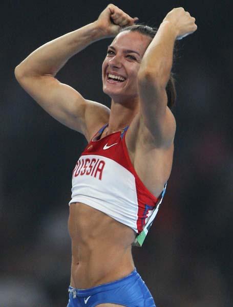 リオ五輪出場が危ぶまれている女子棒高跳のイシンバエワ(C)JMPA