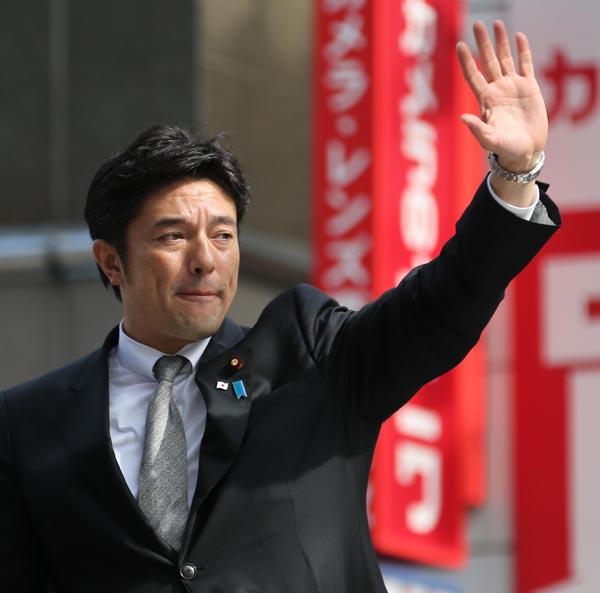 府連会長の中山泰秀衆院議員(C)日刊ゲンダイ