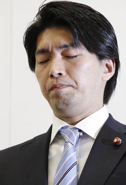 議員辞職した宮崎謙介氏(C)日刊ゲンダイ