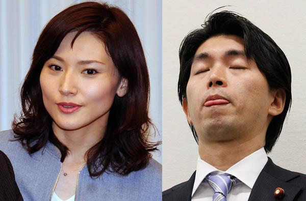 浮気された金子恵美議員は「恥をかけ」と一喝(C)日刊ゲンダイ