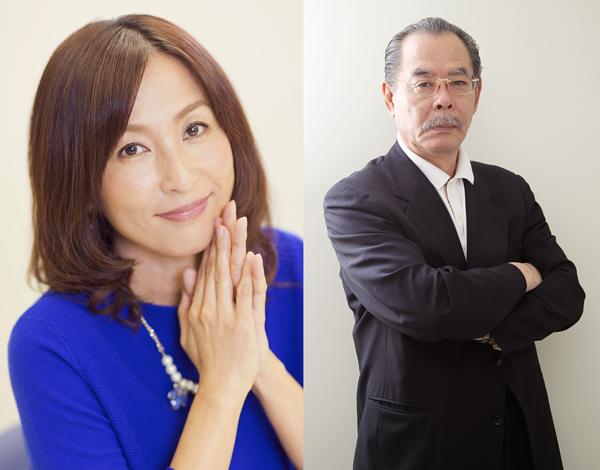 かとうれいこ(左)と野田義治会長(C)日刊ゲンダイ