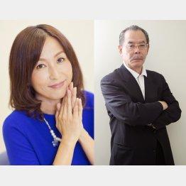 かとうれいこ(左)と野田義治会長