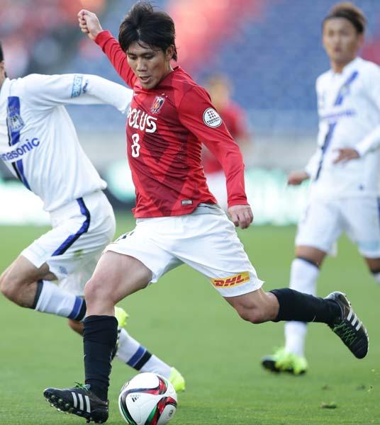 浦和MF柏木は今季「背番号10」を背負う(C)六川則夫/ラ・ストラーダ