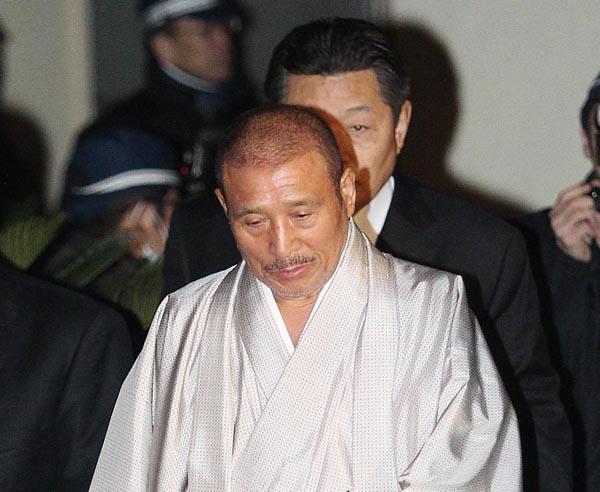 司忍組長(C)日刊ゲンダイ