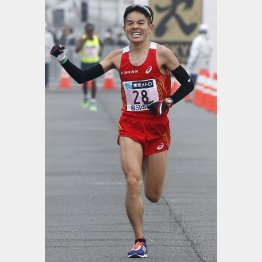 今井正人は昨年の世界選手権代表