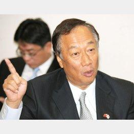 鴻海の郭台銘董事長(C)日刊ゲンダイ