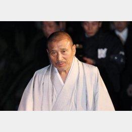 身動きが取れない(司忍組長)(C)日刊ゲンダイ