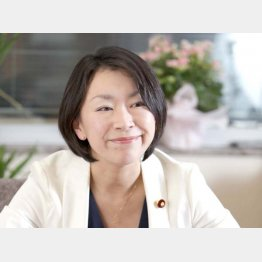 異色の経歴を持つ山尾志桜里議員(C)日刊ゲンダイ